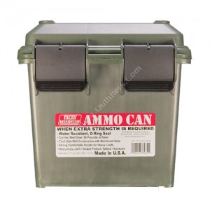 MTM CASE GARD AMMO CAN FOR BULK AMMO GREEN - AC11