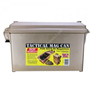 MTM CASE GARD TACTICAL MAG CAN 15IN DARK EARTH - TMC15