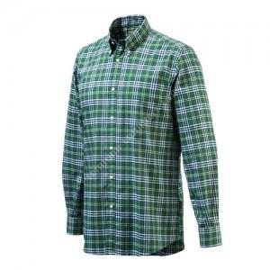 Beretta Classic Bd Drip Dry Shirt. Green L - Lu210t0707078zl