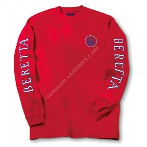 Beretta Double Logo Tee Ls - Ts71729438xl