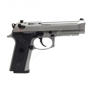 Beretta 92fs Vertec Inox 9mm Handgun - J92fa20m