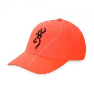Browning Buckmark Blaze Orange Cap. - 30840501