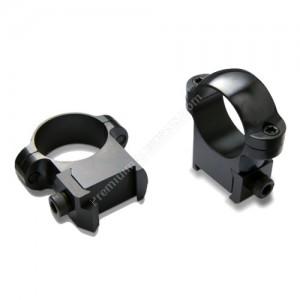 Burris Cz-Style 527 1` Med Rings 2pk Black Hp - 420140