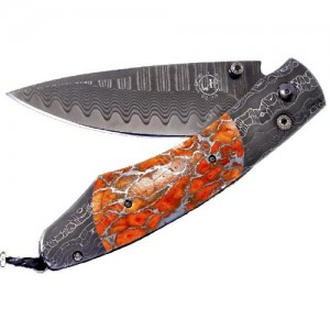 William Henry Spearpoint Sunset Damascus/Apple Coral - B12 Sunset