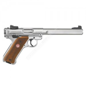 RUGER MK IV COMPETITION 22LR 6.8`BBL 2 MAGS - 40112